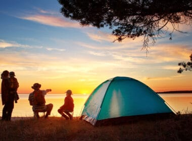 The Great Outdoors: Best Family Camping Sites in Greece