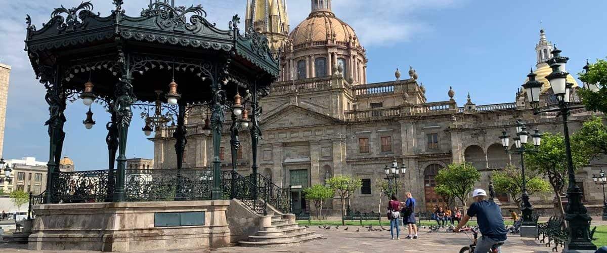 Guadalajara Plaza Mayor. Photo by Maribeth Mellin