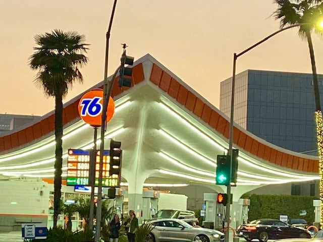 Beverly Hills service station