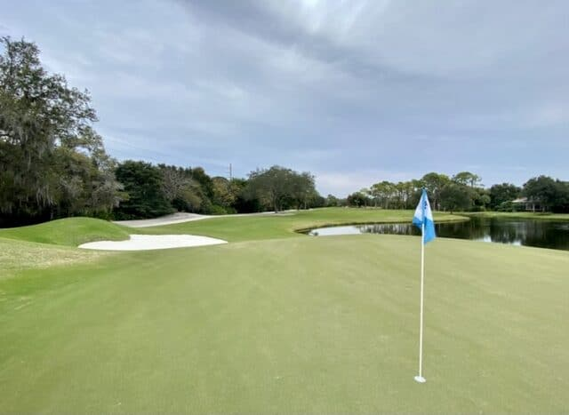 The Oaks Club's Eagle Course by Hills and Forrest