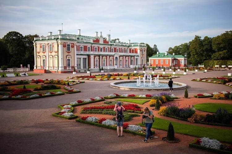 Kadriorg Art Museum, A. Weizenbergi, Tallinn, Estland