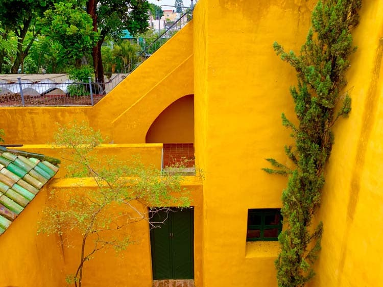 Architecture by Luis Barragán can be found in Guadalajara. Photo by Maribeth Mellin