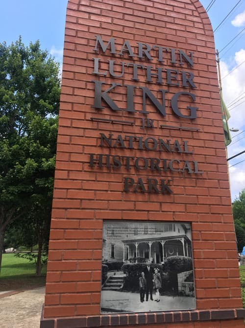 Martin Luther King, Jr. National Historic Park. Photo by Javier Ortega-Araiza