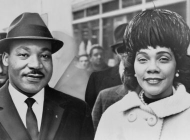 Martin Luther King Jr. and Coretta Scott King.