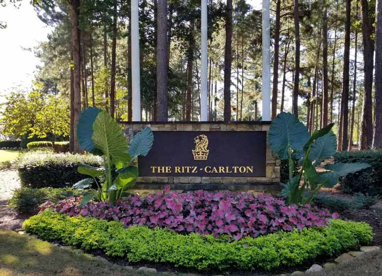 The Ritz-Carlton Reynolds Lake Oconee in Greensboro, Georgia is between Atlanta and Augusta. Photo by Carrie Dow