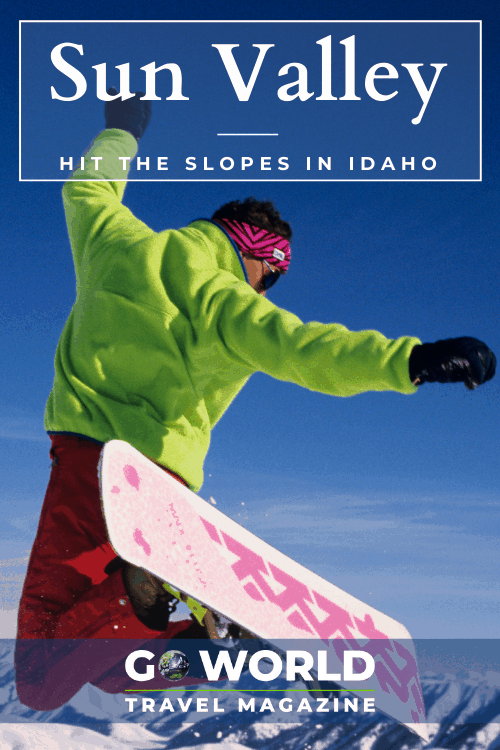 Skiing in Idaho: Hit the slopes in Sun Valley, Idaho. #Skiing #Snowboarding #Idaho #SunValley