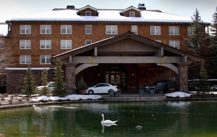 Sun Valley Lodge in Idaho. Photo by Dino Vournas