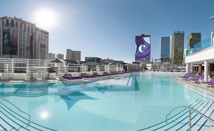 The Cosmopolitan is a luxurious resort located on the Las Vegas strip. Photo courtesy of The Cosmopolitan