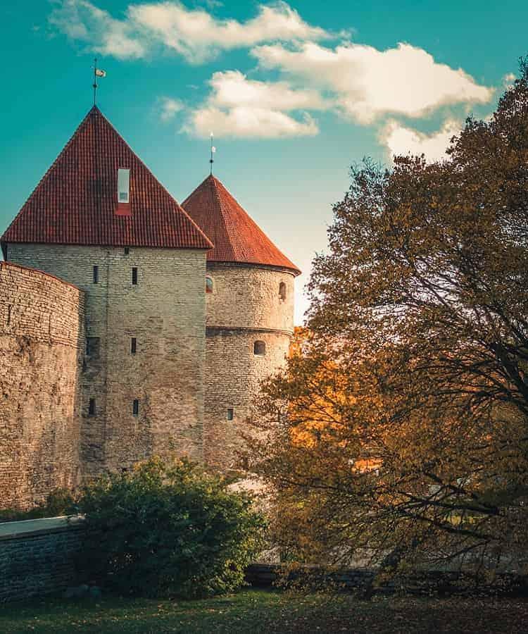 The exterior of Toompea Castle