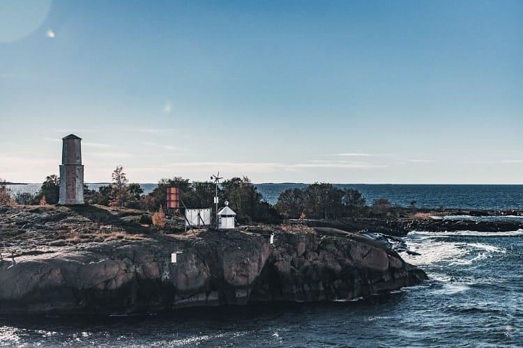 Wonderful view of Baltic Sea, Estonia