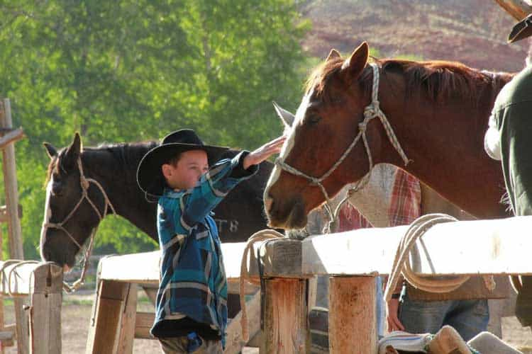Dude ranches offer activities for everyone in the family, including horseback ridiing