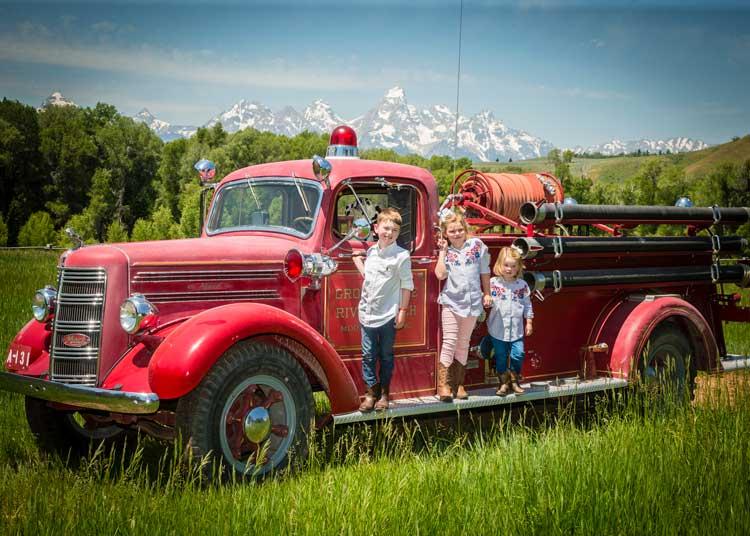 Family fun at a dude ranch
