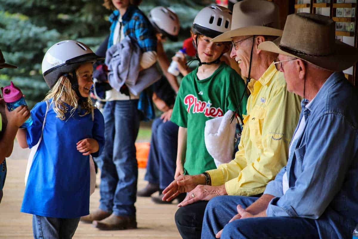 Dude ranches are perfect for a multi-generational vacation