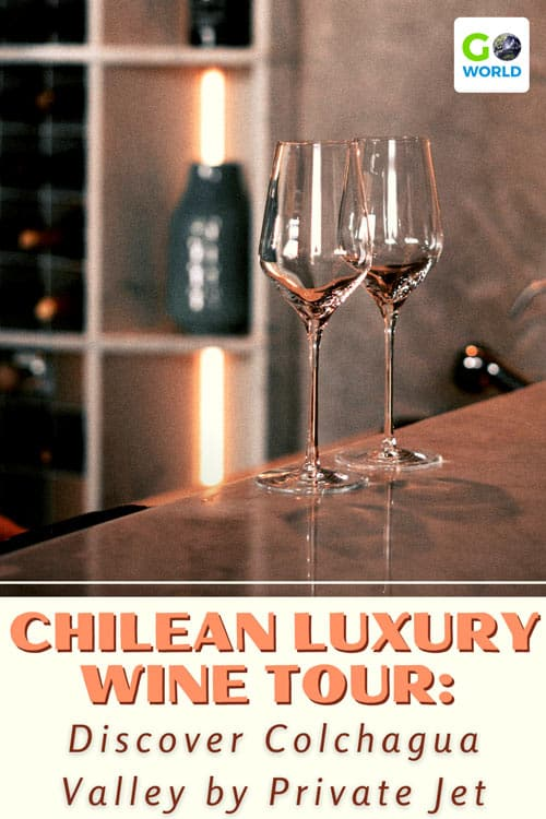 Chile presents an infinite variety of landscapes and vineyards. Travel to Colchagua Valley via a private jet and get lost in the flavors.