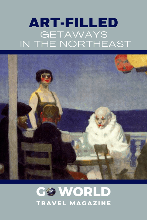Artists' Homes: Have you ever wondered what your favorite artist's home or studio may look like? Now you can see for yourself on a trip to the Northeast. #Artists #ArtistHomeandStudio  #AmericanArtist#ArtHomes