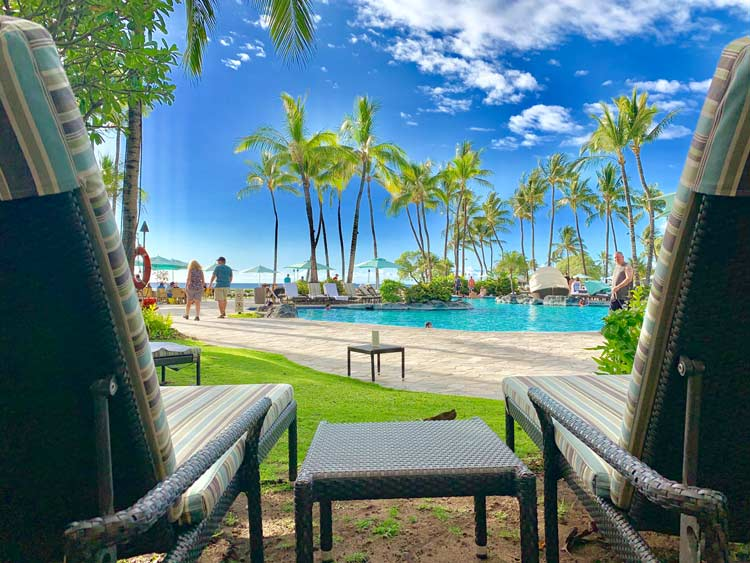The Fairmont Orchid is a resort on Big Island of Hawaii on the Kohala Coast. Photo by Janna Graber