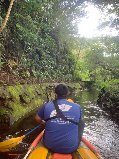 Kayak through the Kohala ditch system with an adventure outfitter on the Big Island of Hawaii. Photo by Janna Graber