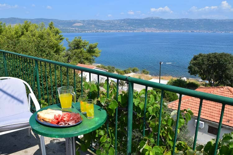 Homestay in Slatine, on the Croatian island of Čiovo. Photo by Amy Aed