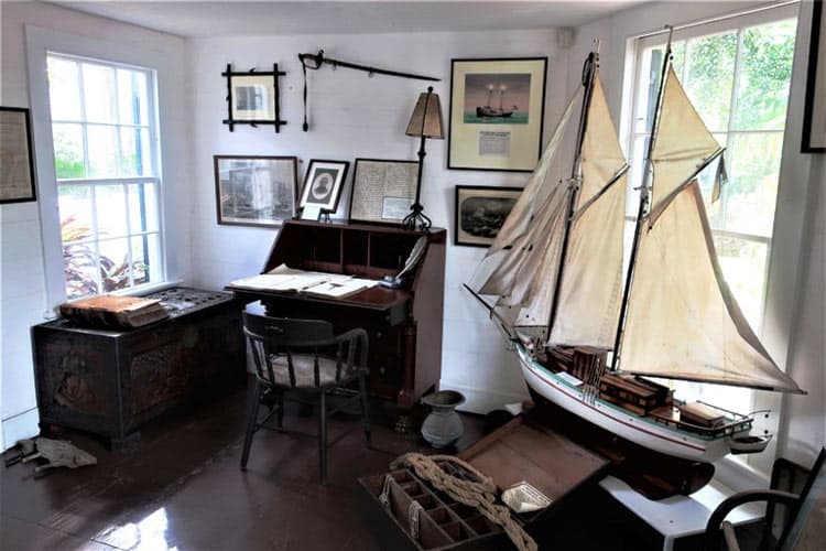 The interior of the oldest house in Key West, Florida dates back to 1829    Photo by Victor Block