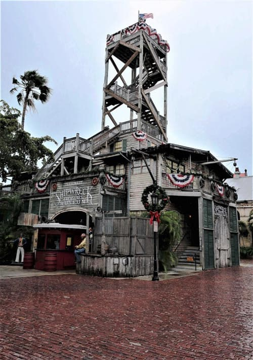 The Shipwreck Museum in Key West, Florida has many an exciting tale to tell   Photo by Victor Block