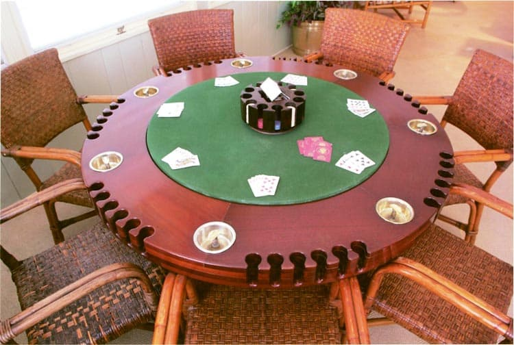 Harry Truman often hosted poker games at his Winter White House in Key West, Florida. Photo by Victor Block