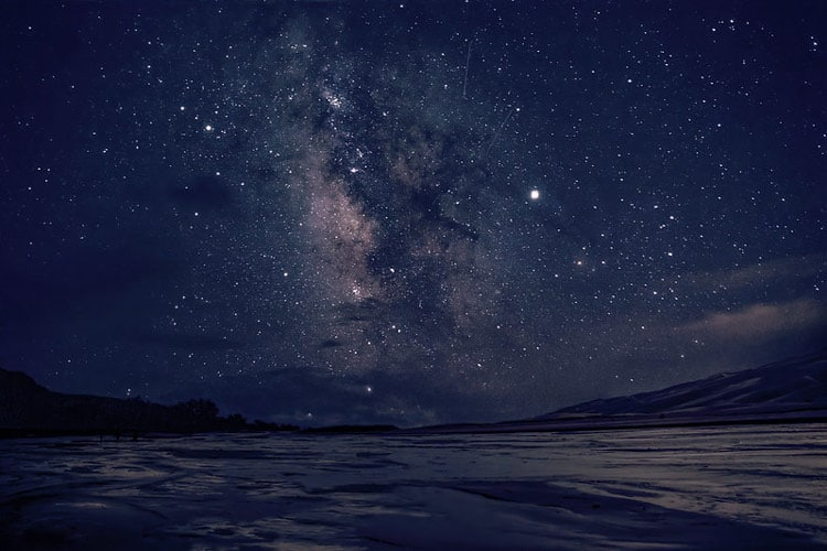 See the night's sky in the park. CC Image by Great Sand Dunes National Park & Preserve/Patrick Myers