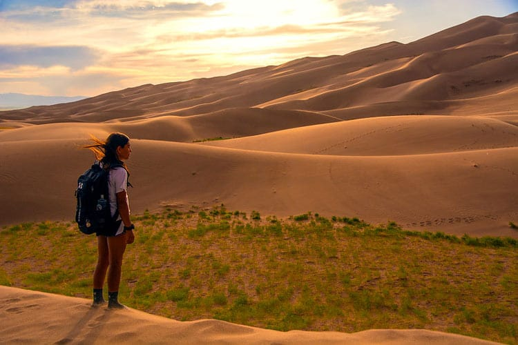 In this national park, there are 29 miles of maintained and marked hiking trails. CC Image by Patrick Meyers/Great Sand Dunes National Park