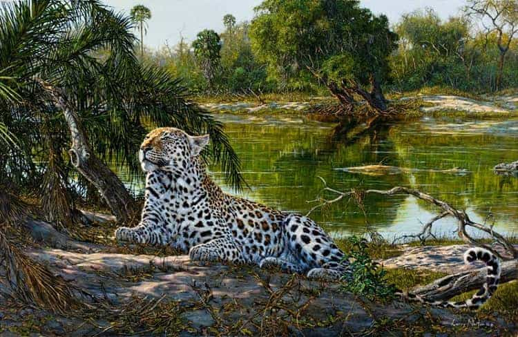 Imperious painting by Larry Norton