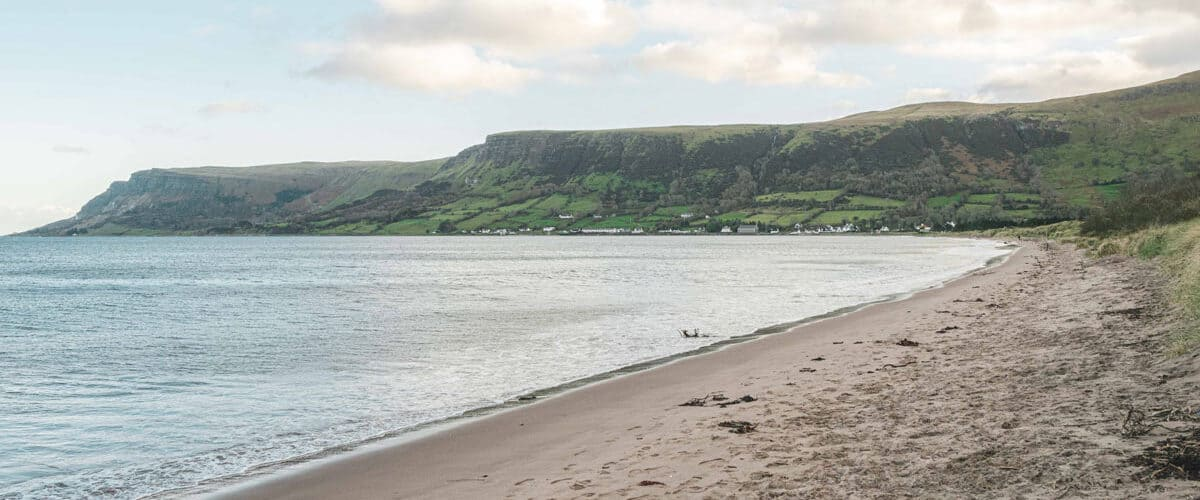 The Best Northern Ireland Beaches, Waterfoot Beach. Photo by Anthony Boyle