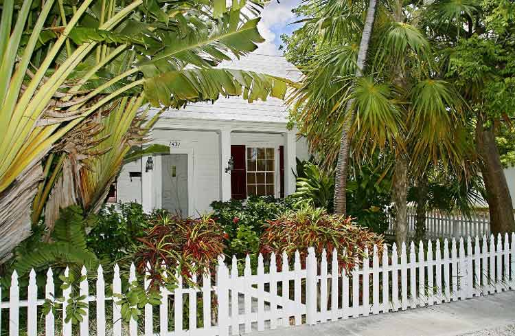 Tennessee Williams' home pays homage to yet another famous author in Key West, Florida. Photo courtesy of Key West Visitors Bureau