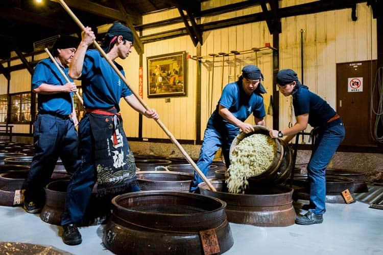 Kagoshima, Japan is the birthplace of shochu, a rough Japanese alcohol. Photo by Satsuma Shuzo