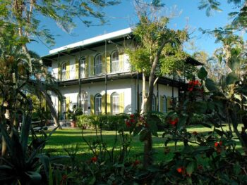 In Key West, Florida, visit the Hemingway House. CC Image by h gruber