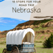 Nebraska: Are you ready for a trip across America's Heartland? Explore Nebraska where you can visit a cattle ranch, see the last duckpin bowling alley west of the Mississippi, try the Tin Roof Sundae, see natural rock formations and more.