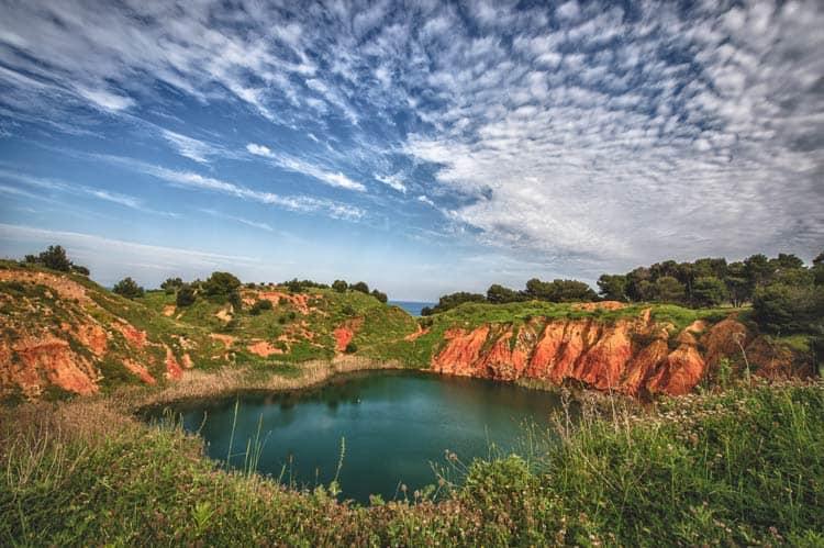 Explore Cava di Bauxite e laghetto in Otranto, Italy. © ARET Pugliapromozione - Ph. Leonardo D'Angelo