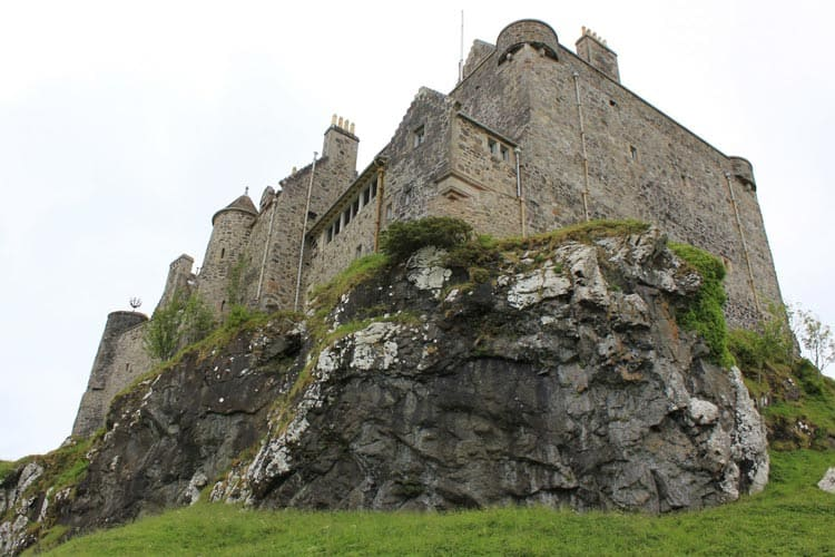 Duart Castle in Scotland is so popular that it has been featured in movies