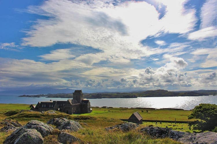 Iona Abbey is said to be the most religious site in Scotland. Photo by Caroline Hall