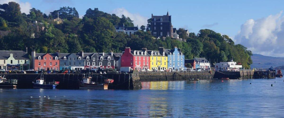 Scotland's Mull Harbour in Mull. Photo by Katie Mullen