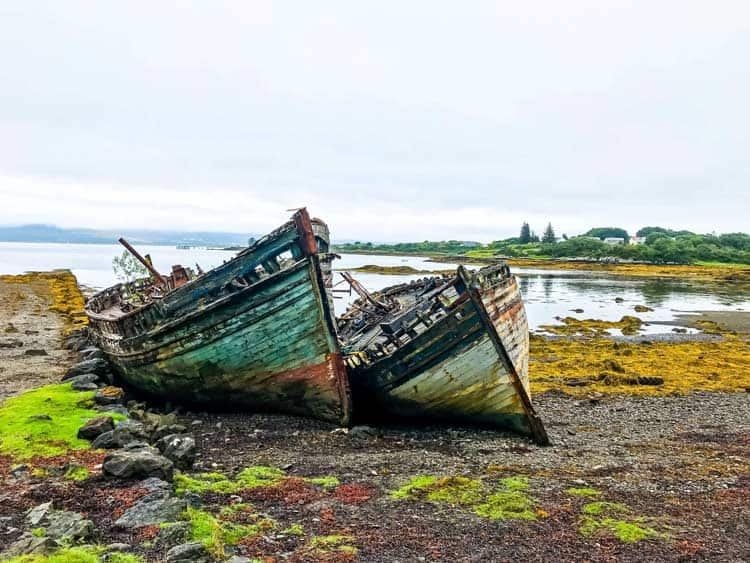 Visit Mull to see the Salen Shipwreck. Photo by Katie Mulle