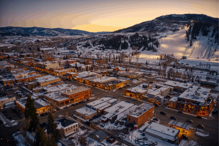 Steamboat Springs has produced more winter Olympians than any other place in the world.