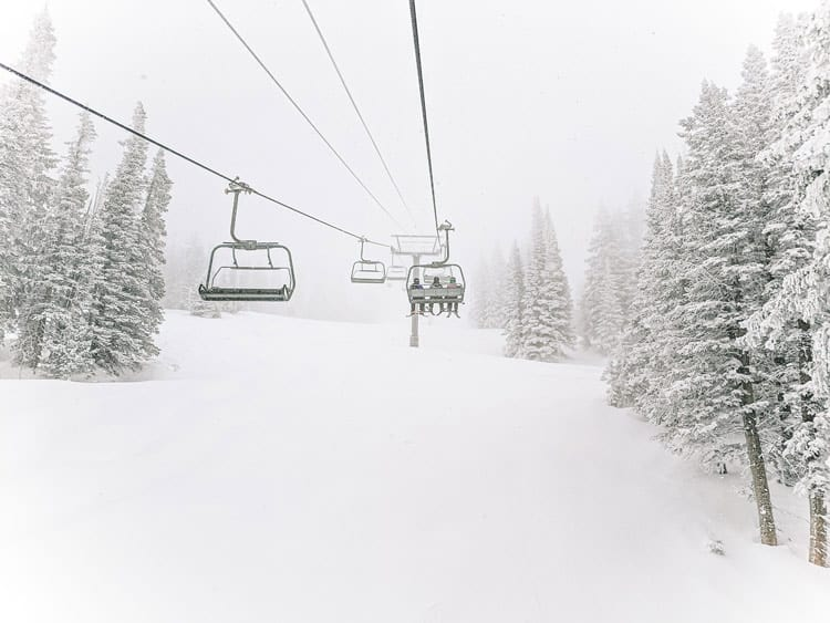 Feel like an Olympian while you're skiing at Steamboat Springs in Colorado