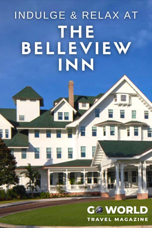 """Florida's Belleview Inn known as the """"White Queen of the Gulf,"""" offers guests a look at the past while inviting them to socialize and relax."""