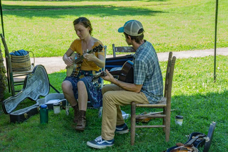 Music of many kinds fills the air in Patrick County, Virginia. Photo by Larry Metayer