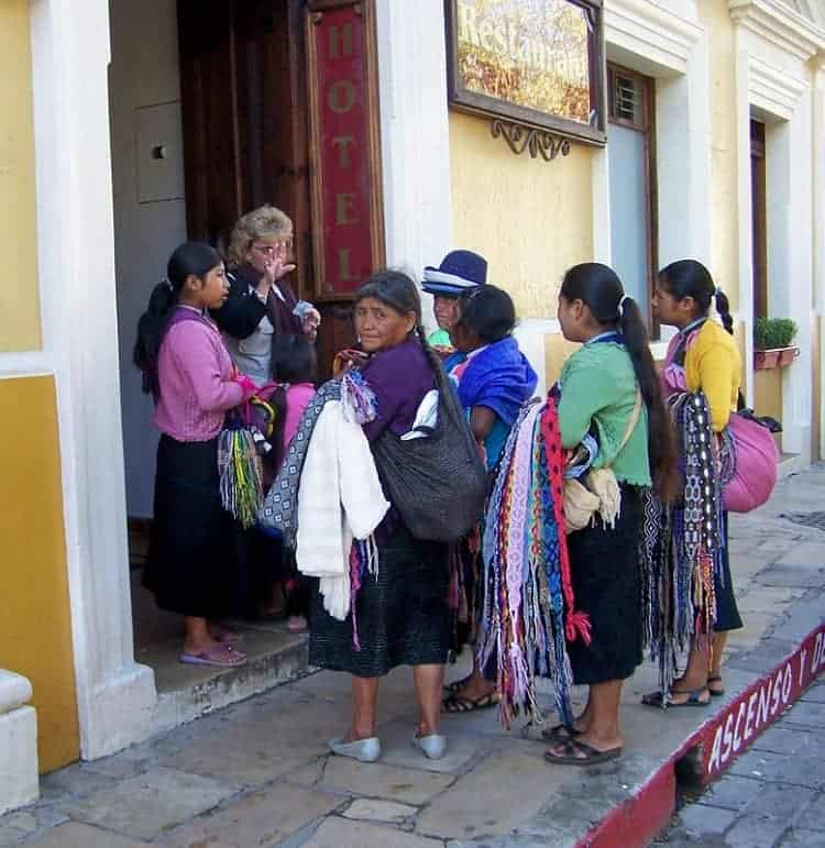 Maya Women in Chiapas Mexico
