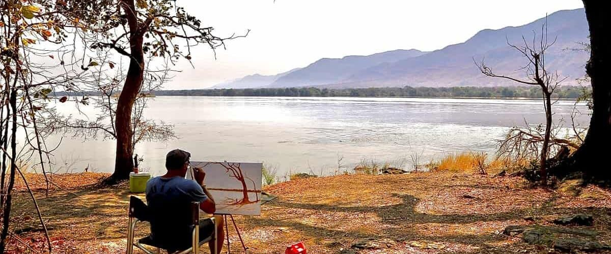 Zimbabwean Artist Inspires Travel to Africa Through His Work