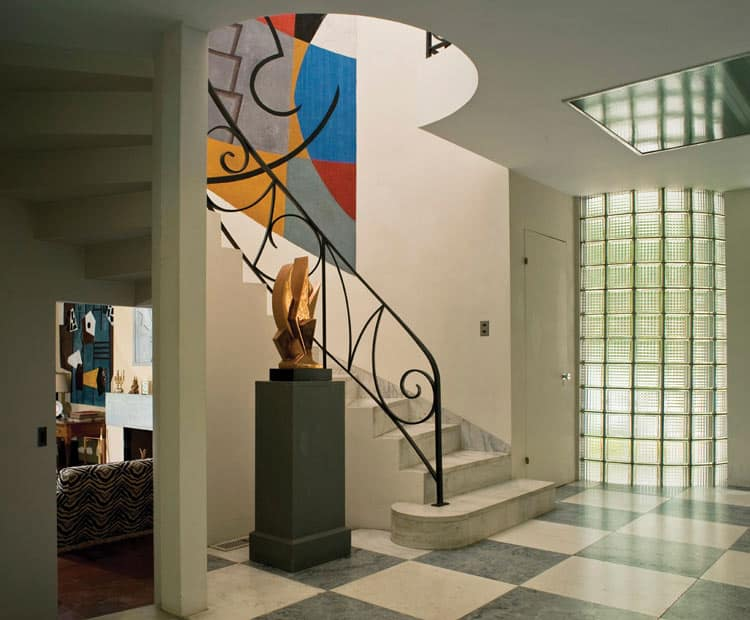 In Lenox, Massachusetts guests can visit the home of artists Suzy Frelinghuysen and George L.K. Morris. Photo courtesy of Frelinghuysen Morris House & Studio