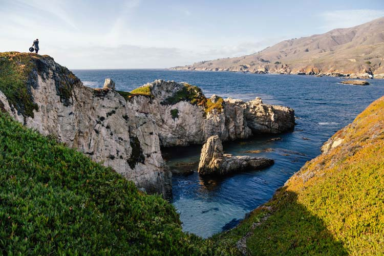 Big Sur off the Pacific Coast Highway in California