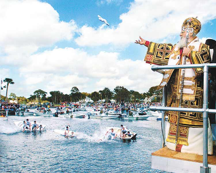Celebrations at the Feast of Epiphany in Tarpon Springs
