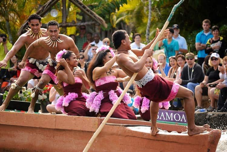 Live show at the Polynesian Cultural Center