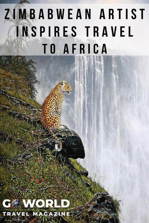 For artist Larry Norton, a lifetime of expeditions and experience in Africa has yielded inspiring artworks of Africa.