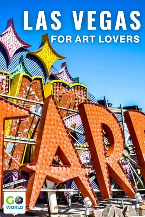 Art in Last Vegas: Explore a city that celebrates art through extraordinary installations, museums, eclectic hotel designs and more. Here are the best places for art lovers to visit in Las Vegas.